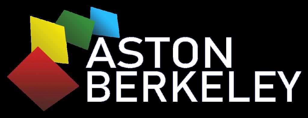 Aston Berkeley logo - white text